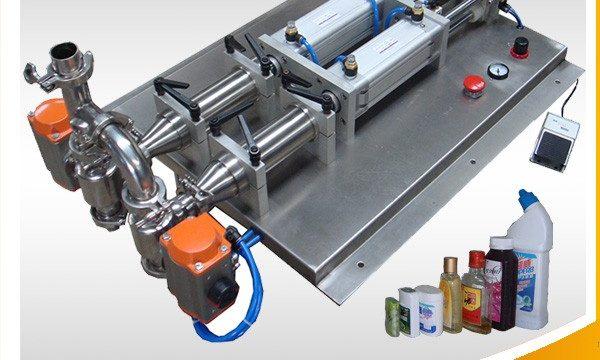 China produkte pryse klein bottel vloeistof vul masjien verskaffer