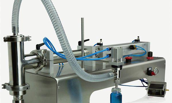 Pneumatiese beheer dubbelkoppe-smeermiddel vir olie