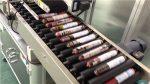 Outomatiese wors etiketteringsmasjien met voerder