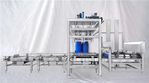 Aanpasbare ESDF-reeks 100-1000L-kapasiteit outomatiese vullismasjien vir groot dromme